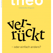theo. Katholisches Magazin 01/2015. Cover. Christentum